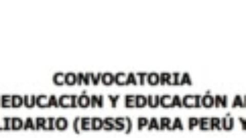 Contratación Responsable Educación y EDSS para Perú y América Latina