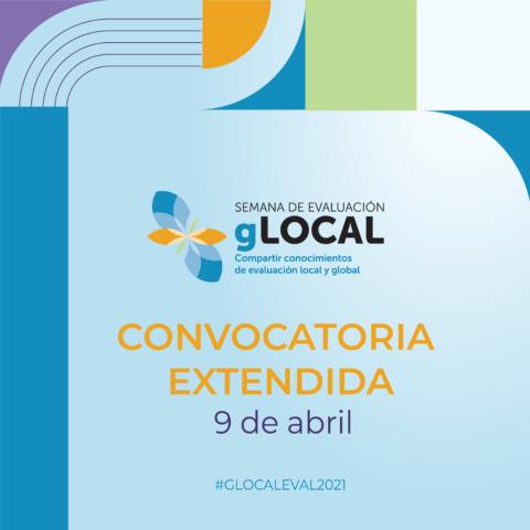 Semana de la Evaluación gLOCAL2021