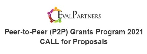 """Call for Proposals and Proposal Template for the P2P grants with the theme:  """"Evaluation as an agile tool for an appropriate response in uncertain times"""""""