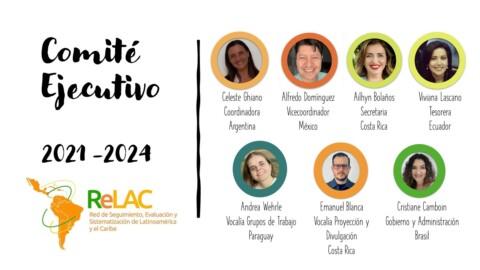 Nuevo Comité Ejecutivo 2021-2024 listo para serguir fortaleciendo la ReLAC