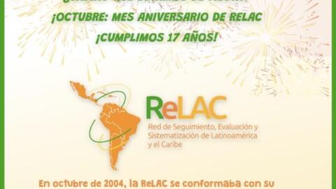ReLAC Celebra sus 17 años (octubre, nuestro mes)